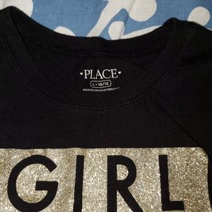 Children's Place Shirts & Tops - Long sleeve girl's t-shirt